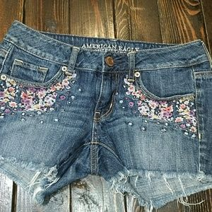 Jean shorts great condition. Barely worn